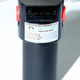 NFC 4500 series anodized aluminum filter housing