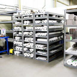 NFC maintains a large inventory of micronic mesh on hand to maintain best in industry lead times.