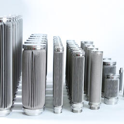 NFC standard all welded stainless steel filter elements