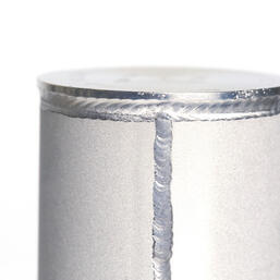 Sinter bonded stainless steel all welded filters for low flow applications.