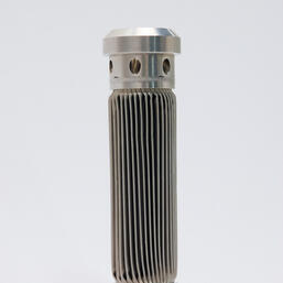 Custom all welded filter elements for aerospace applicaion