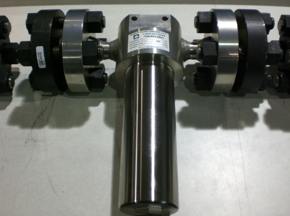 flange mounted filter
